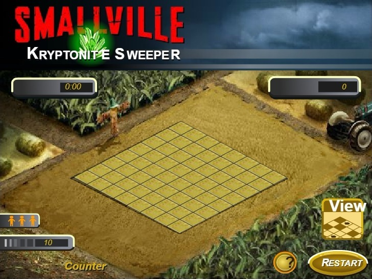 Smallville Kryptonite Sweeper Game