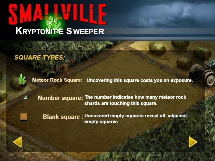 Play Smallville Kryptonite Sweeper