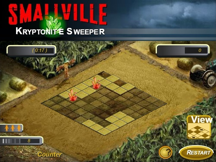Smallville Kryptonite Sweeper Full Screen
