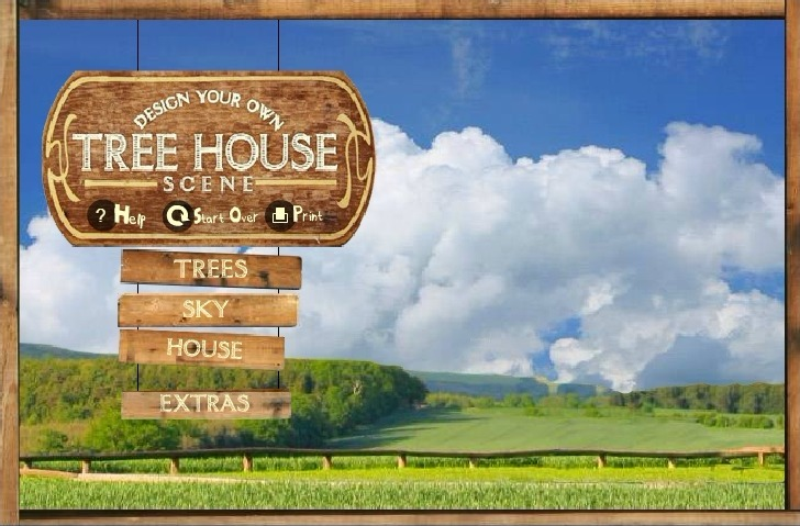 Play Tree House Creator Game Full Screen