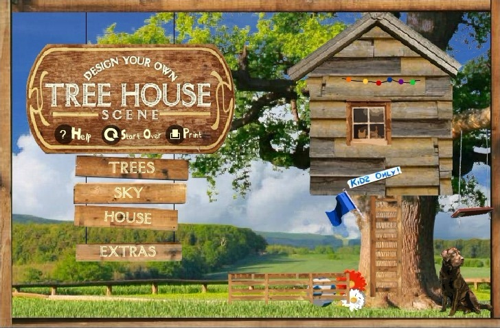 Tree House Creator Full Screen