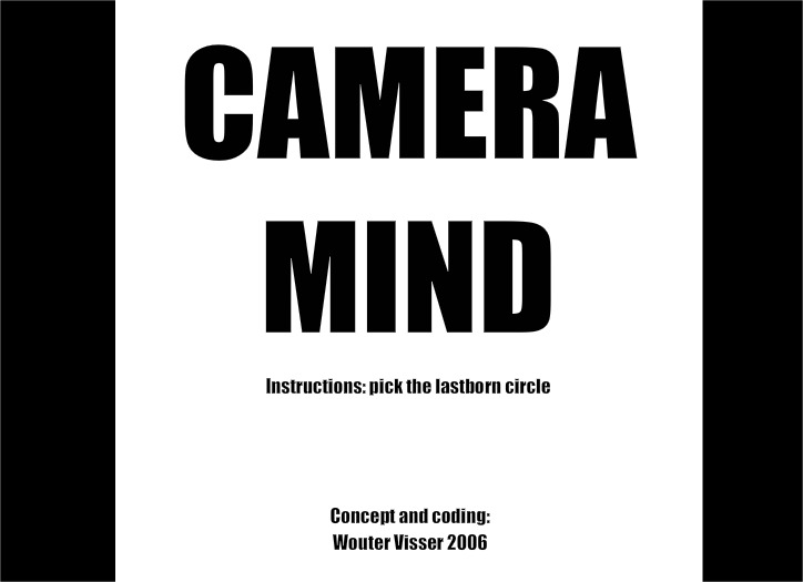 Play Camera Mind Game Full Screen