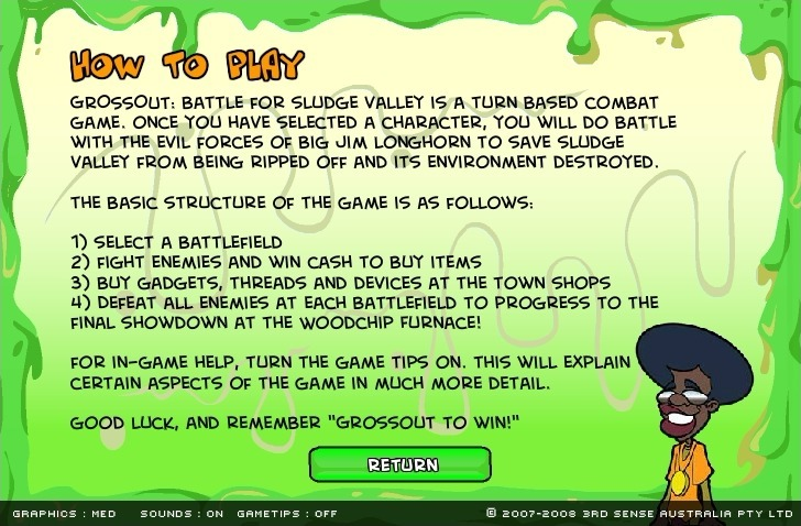 Play GrossOut Battle for Sludge Valley