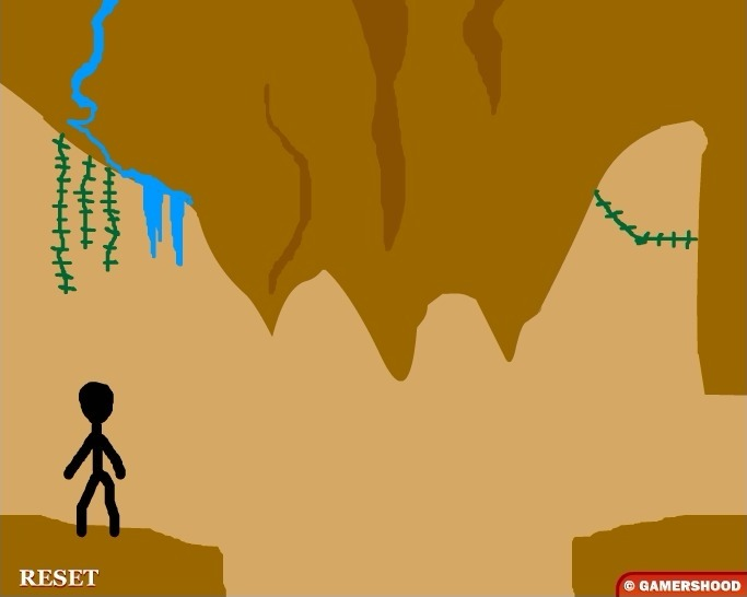 Stickman Jones Full Screen