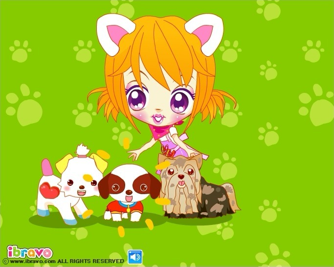 Play Sue's Dog Beauty Salon Game Full Screen