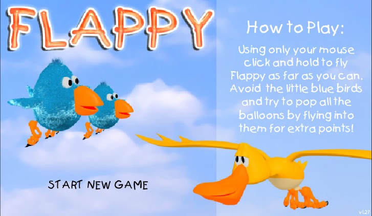 Play Flappy Game Full Screen