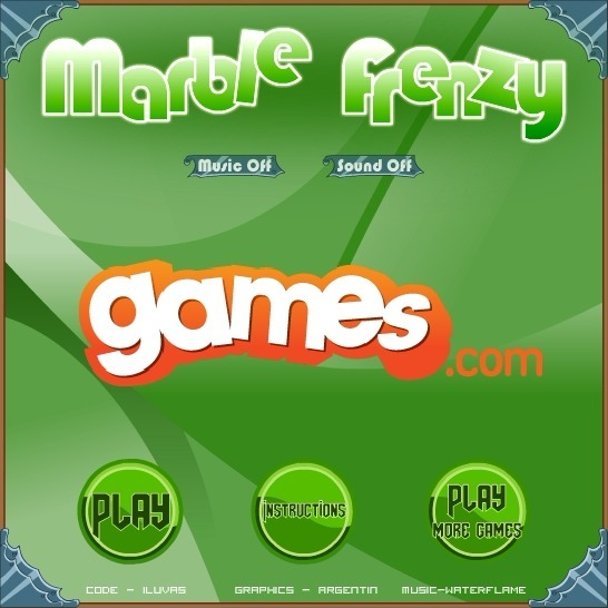 Play Marble Frenzy Game Full Screen