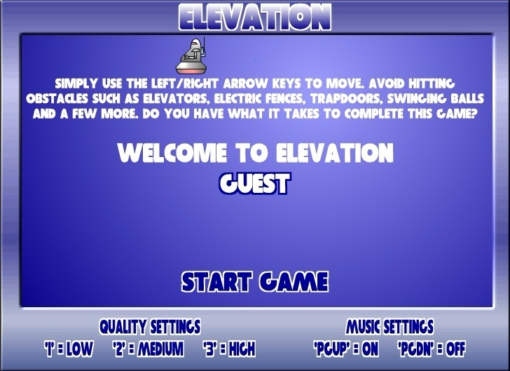 Play Elevation Game Full Screen