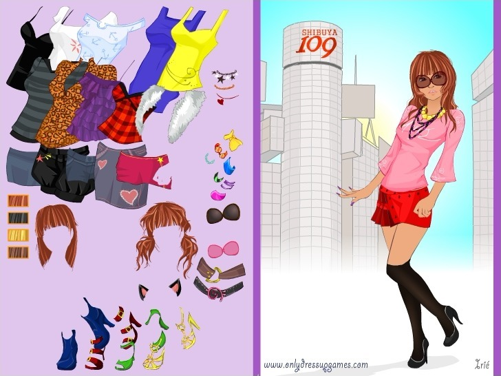 Ganguro Japanese Girl Game