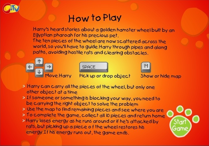 Play Harry the Hamster 2