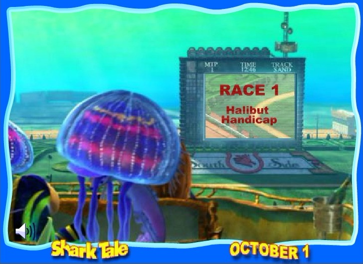 Play Shark Tale The Big Race