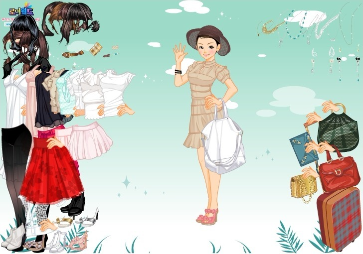 Skirt and Blouse Dress Up Game