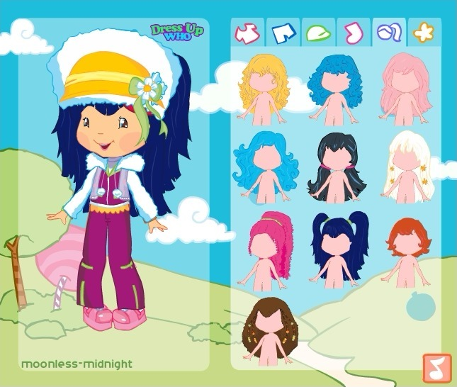 Strawberry Shortcake Dress Up Full Screen