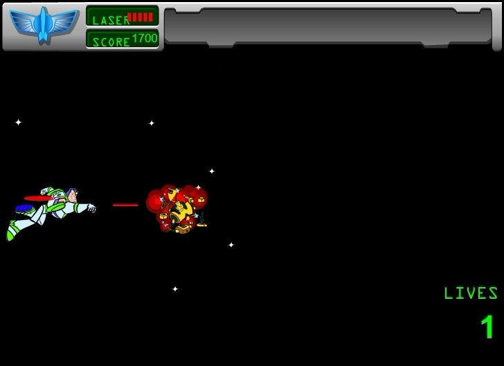 Buzz Lightyear of Star Command Game