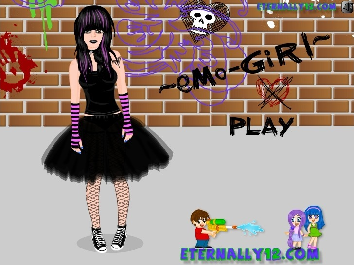 Play Emo Girl Game Full Screen
