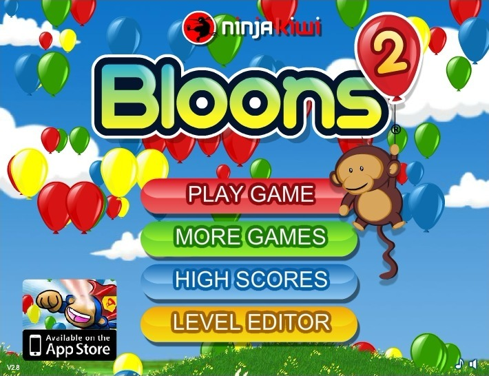 Play Bloons 2 Game Full Screen