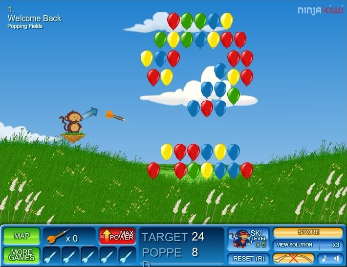 Bloons 2 Full Screen