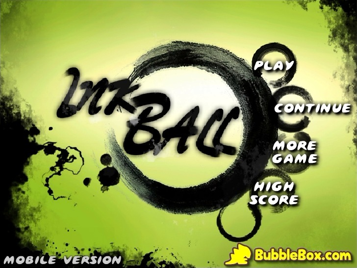 Play Ink Ball (Mobile Version) Game Full Screen
