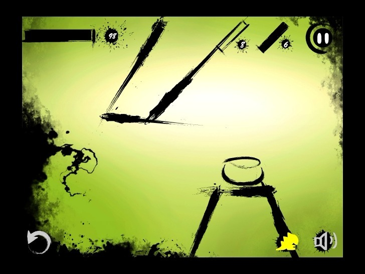 Ink Ball (Mobile Version) Full Screen