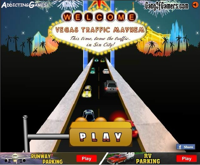 Play Las Vegas Traffic Mayhem Game Full Screen
