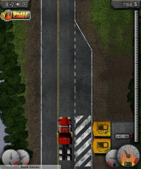 Mad Trucker 2 Full Screen