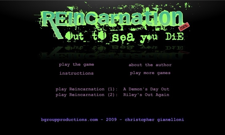 Play Reincarnation Out to Sea You Die Game Full Screen