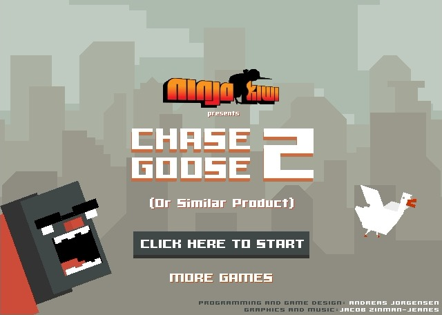Play Chase Goose 2 Game Full Screen