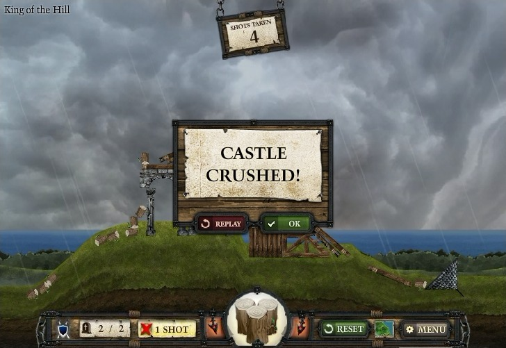 Crush the Castle 2 Full Screen