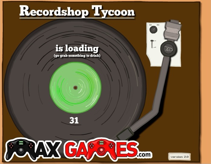 Play Record Shop Tycoon Game Full Screen