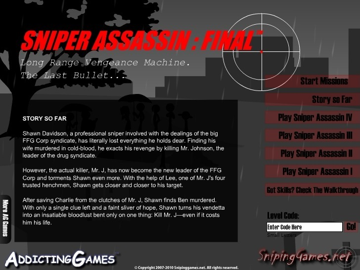 Play Sniper Assassin 5: Final Mission