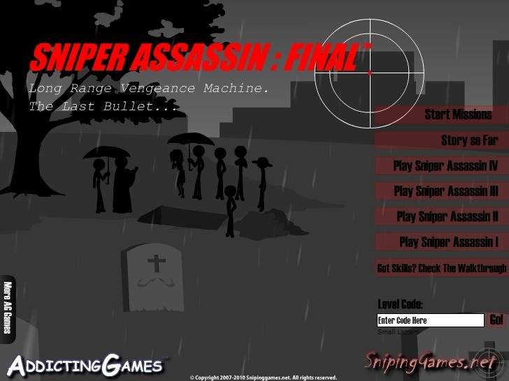 Play Sniper Assassin 5: Final Mission Game Full Screen