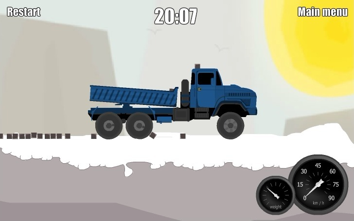 KAMAZ Delivery 2: Arctic Edge Full Screen
