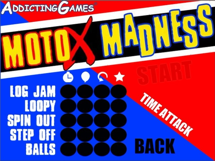 Moto X Madness Game