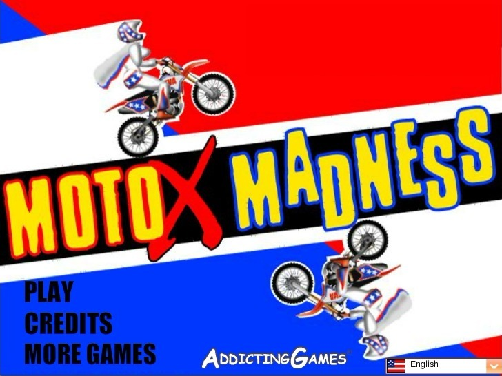 Play Moto X Madness Game Full Screen