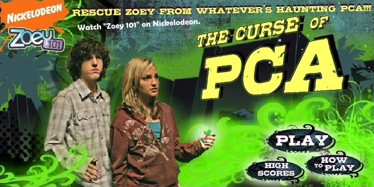Play Zoey 101: The Curse of PCA Game Full Screen