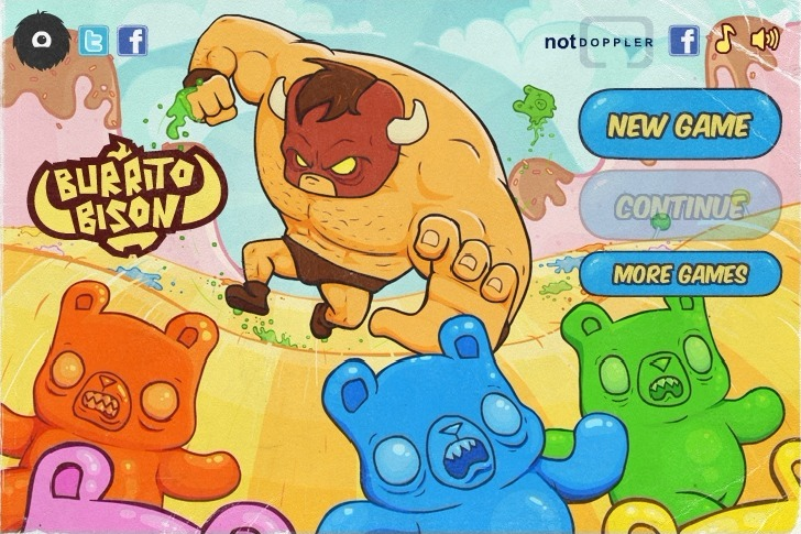 Play Burrito Bison Game Full Screen