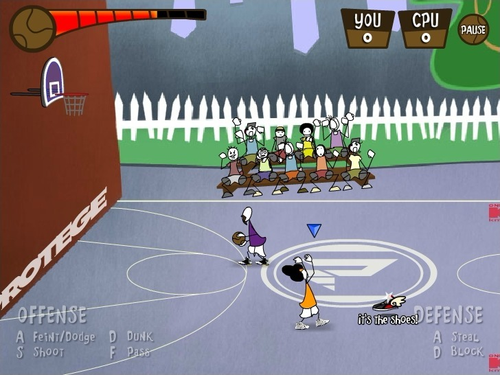Protege Stick Basketball Game