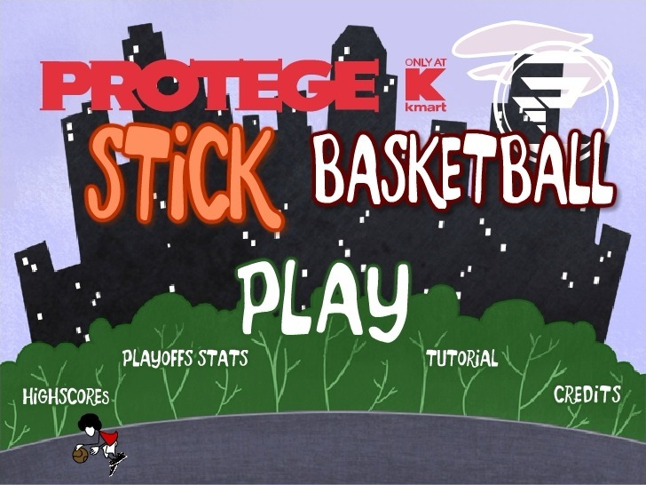 Play Protege Stick Basketball Game Full Screen