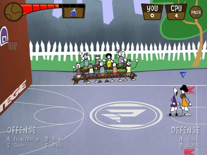 Protege Stick Basketball Full Screen