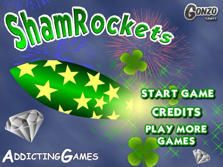 Play ShamRockets Game Full Screen