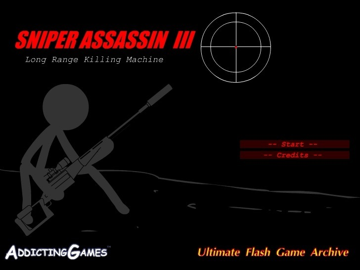 Play Sniper Assassin 3 Game Full Screen