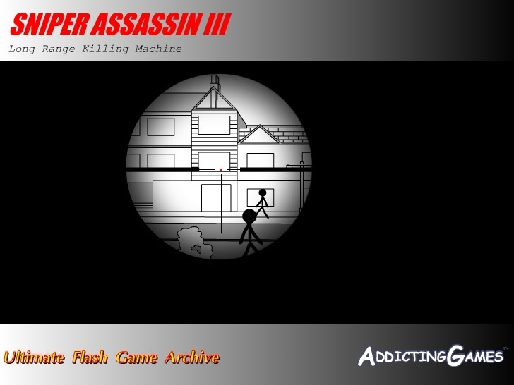 Sniper Assassin 3 Full Screen
