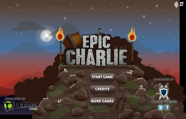 Play Epic Charlie Game Full Screen