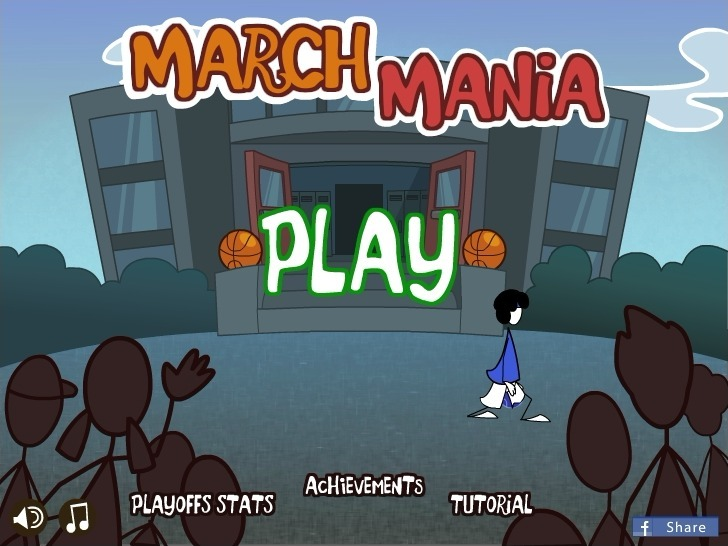 Play March Mania! Game Full Screen