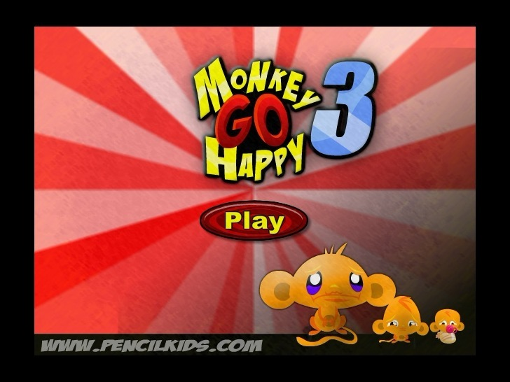 Play Monkey GO Happy 3 Game Full Screen