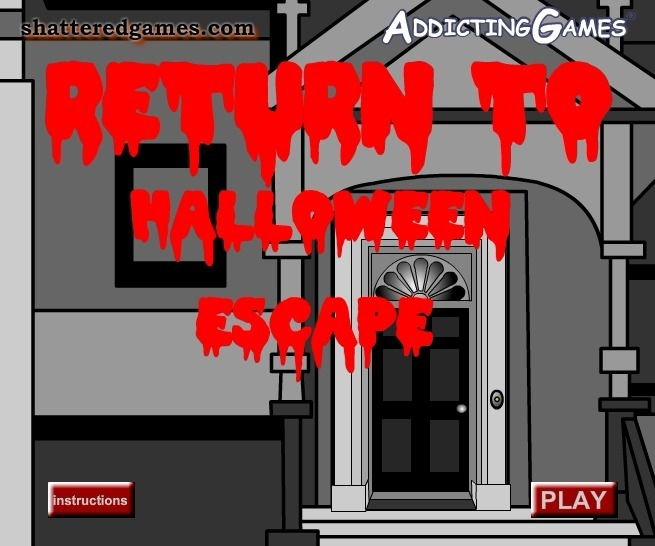 Play Return to Halloween Escape Game Full Screen