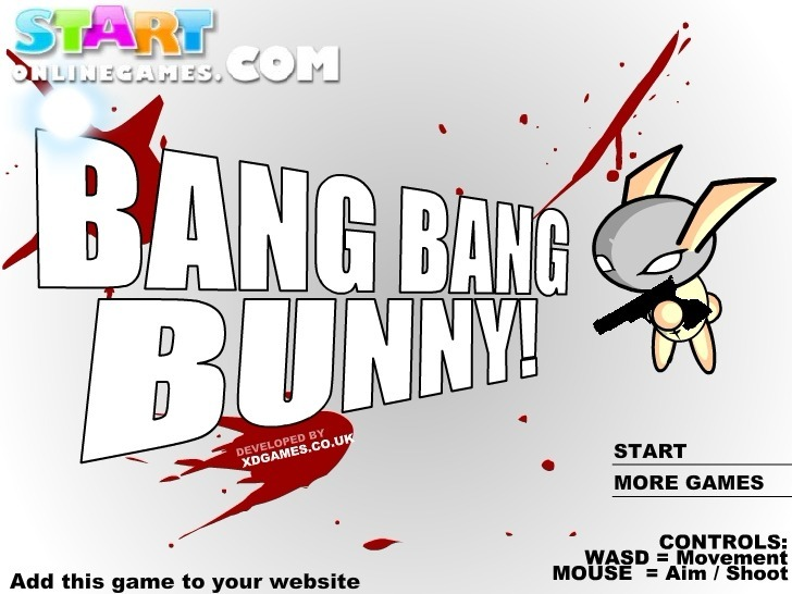 Play Bang Bang Bunny Game Full Screen