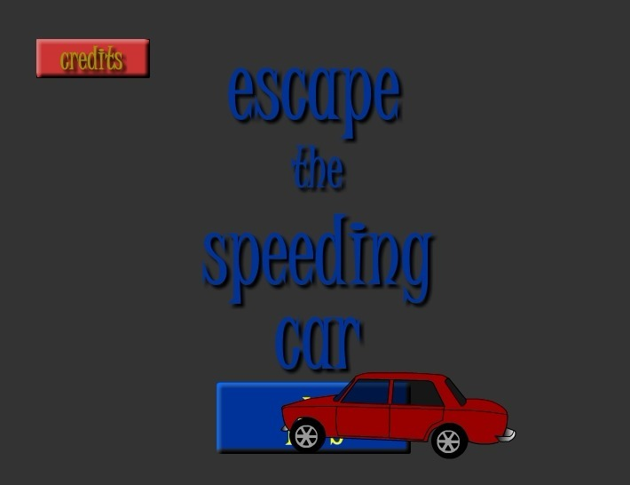 Play Escape the Speeding Car Game Full Screen