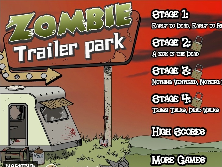 Play Zombie Trailer Park Game Full Screen