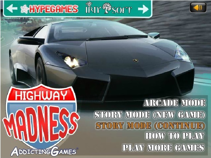 Play Highway Madness Game Full Screen